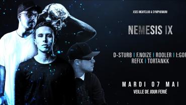 Nemesis IX : D-Sturb / Rooler / F.noize / I:GOR