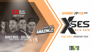Bloc Radio Birthday : Soulblast, Durky Bass & friends